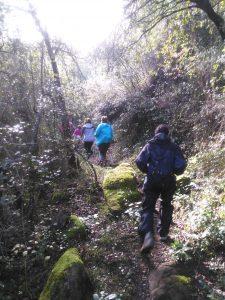 Camí de la Fageda Fosca, Santa Pau