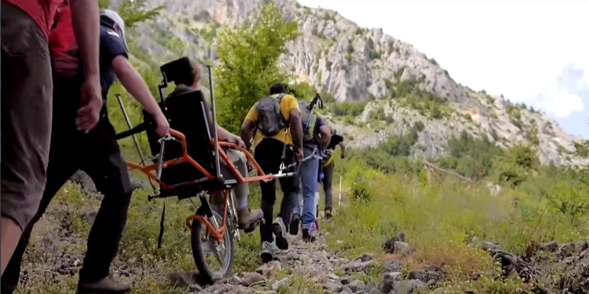 Bicicleta Joëlette