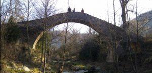 Pont romà d'Oix, Montagut i Oix