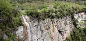Salt del Sallent, Vall d'en Bas
