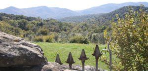 Vistes des de Sant Martí de Capsec, Vall de Bianya