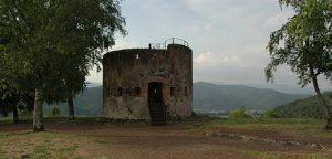 Torre de guaita al Volcà Montsacopa, Olot
