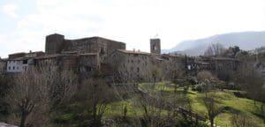 Panoràmica del nucli antic, Santa Pau