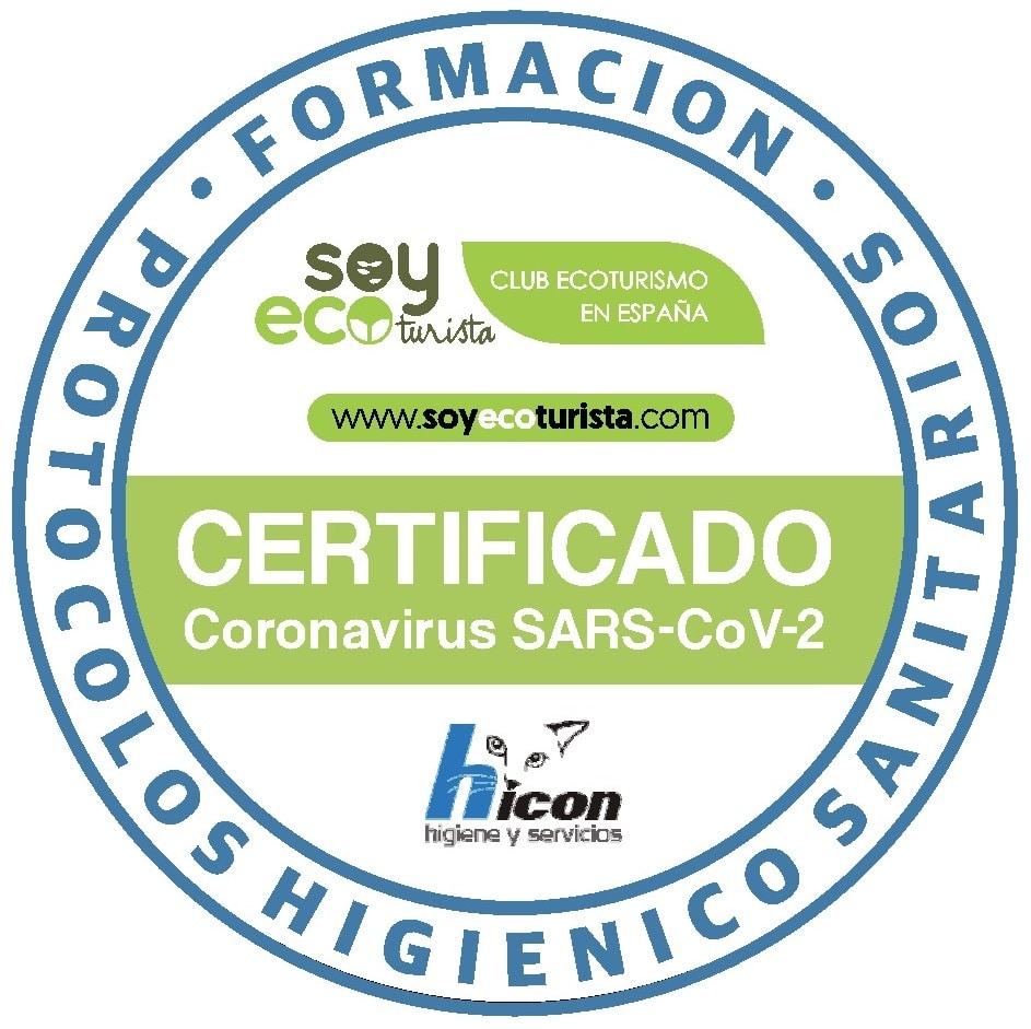 Certificat AEE Club d'Ecoturismo de España (SOYECOTURISTA)