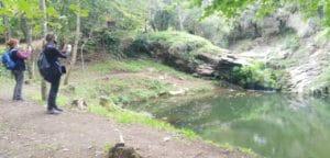 Ruta dels gorgs de Santa Pau, gorg de Caga-rates